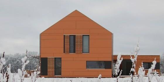 Das Siegerhaus: passivhaus-eco (Foto: passivhaus-eco Bucher und Hüttinger)