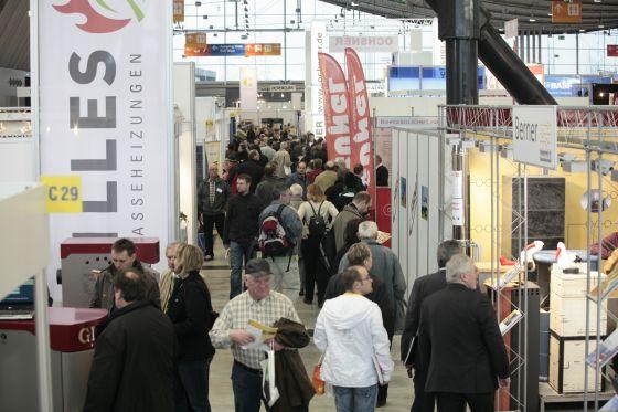Vielfältiges Informationsangebot über Passivhäuser auf der Stuttgarter Messe CEP (Foto: CEP)