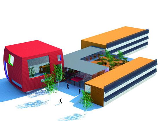 Viele außergewöhnliche Ideen für das JUFA Campus Futura in Bleiberg (Foto: JUFA)