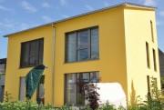 Bei dem neuen Einfamilienhaus in Ötigheim war die Passivhaus-Zertifizierung nach dem neuen System bereits erfolgreich. (Foto: Scholz/Gerber)